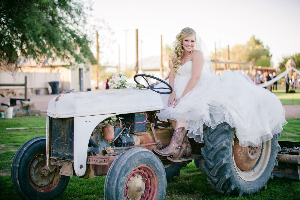 Katie's Real Bride Story Tractor