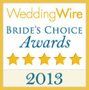Wedding Wire Bride's Choice Award 2013