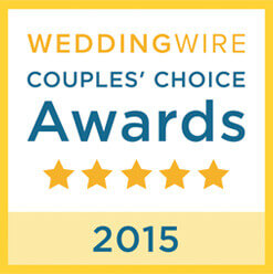 Wedding Wire Couple's Choice Award 2015