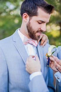 real bride series groom boutonierre