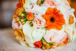 real bride series bouquet
