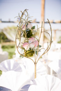 Katie's Real Bride Series Centerpiece