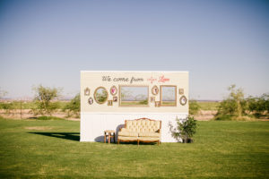 Katie's Real Bride Series Photo Backdrop