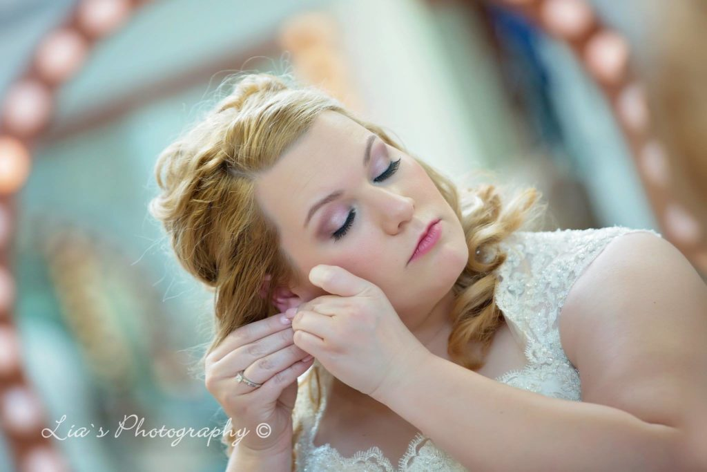 Babydoll Weddings Real Bride Series Tessa Makeup
