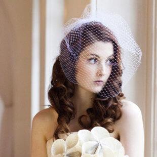 bridal veil birdcage