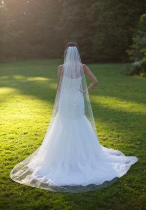 chapel length veil
